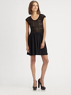 Nightcap Clothing - Isobel Crochet Dress