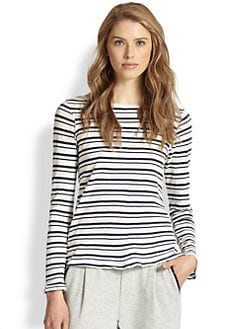 Splendid - Striped Cotton Tee