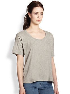 Splendid - Boxy Cotton Tee