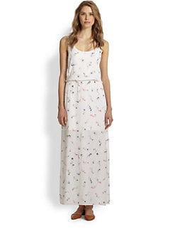 Splendid - Floral-Print Maxi Dress