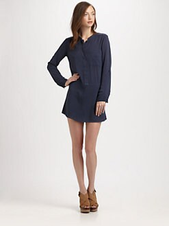 Splendid - Long-Sleeve Shirtdress