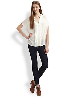 Soft Joie - Orly Pintuck Top