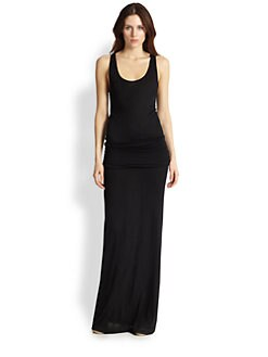 Soft Joie - Wilcox Ruched-Waist Jersey Maxi Dress