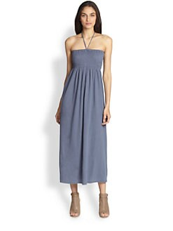 Soft Joie - Acadia Halter Linen & Cotton Maxi Dress