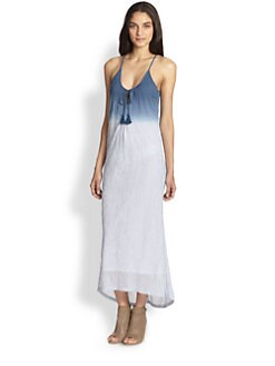 Soft Joie - Rees Dip-Dyed Cotton Gauze Maxi Dress