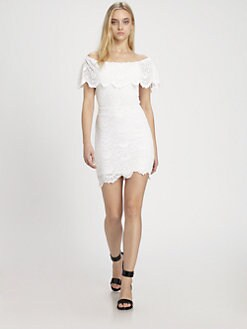 Nightcap Clothing - Rivierra Lace Dress