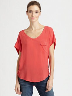 Splendid - Dolman Pocket Tee