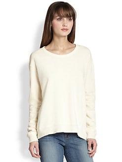 Wilt - Asymmetrical Cotton Jersey Sweatshirt