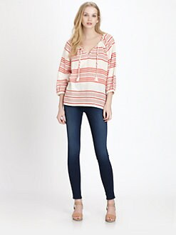 Soft Joie - Legaspi Striped Gauze Top