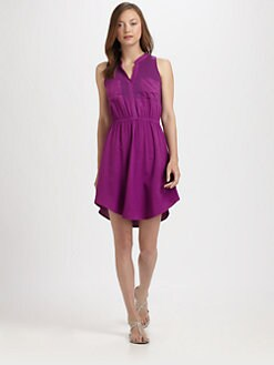Splendid - Sleeveless Knit Shirtdress