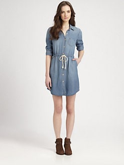 Splendid - Chambray Shirtdress