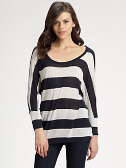 Soft Joie - Lyon Striped Dolman Top