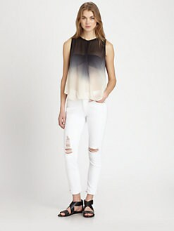 Young Fabulous & Broke - Caliente Ombr&eacute; Chiffon Top