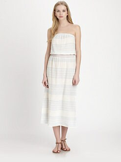 Soft Joie - Dorance Striped Gauze Dress