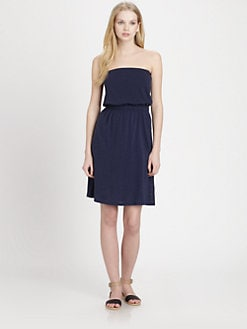 Soft Joie - Valentina Strapless Cotton & Linen Dress