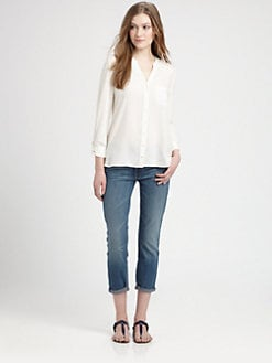 Soft Joie - Evaine Silk Blouse