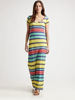 Splendid - V-Neck Maxi Dress