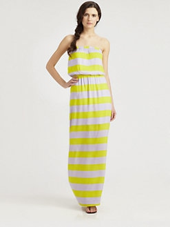 Splendid - Magnolia Strapless Maxi Dress