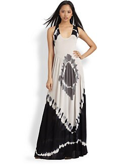 Young Fabulous & Broke - Sofie Tie-Dyed Jersey Maxi Dress