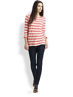 Soft Joie - Brier Heavy Cotton Striped Shirt