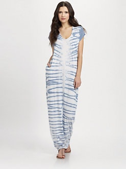 Raquel Allegra - Tie-Dyed Long Caftan
