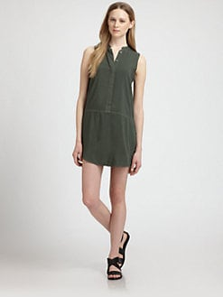 Splendid - Sleeveless Shirt Dress
