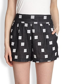 ACE & JIG - Patterned Tap Shorts