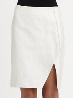 ROGAN - Raw-Edge Skirt
