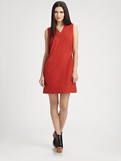 ROGAN - Sleeveless Silk Dress