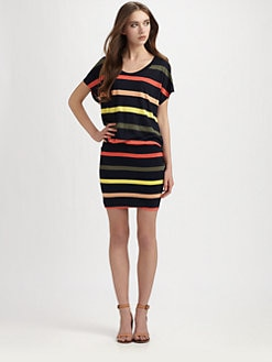 Soft Joie - Brixton Striped Jersey Dolman Dress