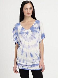 Young Fabulous & Broke - Trish Tie-Dyed Tunic Top