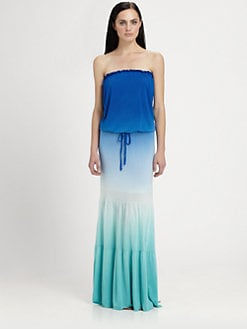 Young Fabulous & Broke - Tressa Strapless Ombr&#233; Dress