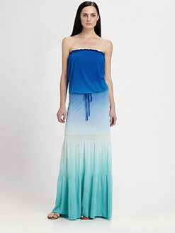 Young Fabulous & Broke - Tressa Strapless Ombré Dress