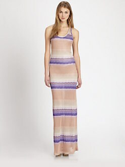 Young Fabulous & Broke - Blaire ZigZag-Striped Maxi Dress