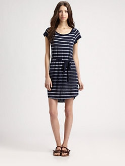 Splendid - Striped T-Shirt Dress