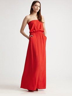 Splendid - Strapless Maxi Dress