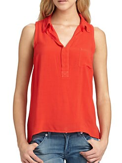Splendid - Two-Tone Collared Tank
