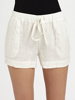 Soft Joie - Abryell Linen Shorts