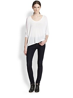 Splendid - Draped Jersey Dolman Top