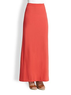 Splendid - Stretch Jersey Maxi Skirt