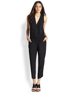 Splendid - Shirting Cropped Jumpsuit