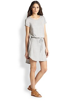 Splendid - Drawstring-Waist Tee Dress