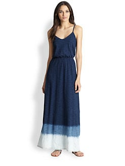 Splendid - Tie-Dye Cotton Jersey Maxi Dress