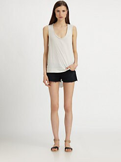Raquel Allegra - Shredded Tank Top
