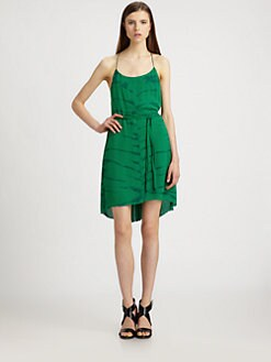 Raquel Allegra - Silk Tie-Dyed Y Dress