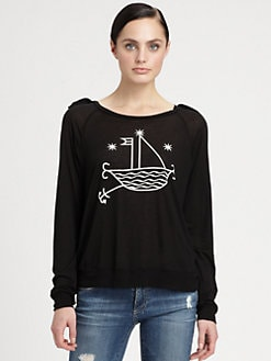 Bobo House - Starry-Print Top