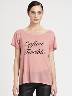 Bobo House - Enfant Terrible Slub Tee