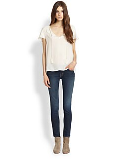Soft Joie - Sorel Semi-Sheer Top