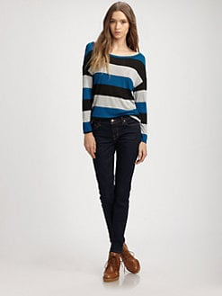 Soft Joie - Berthe Stripe Top