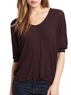 Splendid - Boxy U-Neck Top